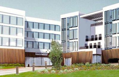 Le nouvel hôpital de Paris-Saclay, à Orsay, sera un établissement ultra moderne.