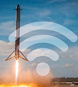 Désormais, la première version test de Starlink est accessible en France, pour accéder à Internet.