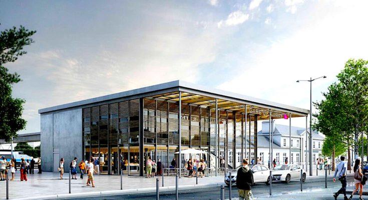 Nouvelle gare à Auray : un ensemble flambant neuf dans le Morbihan