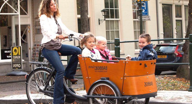 Vélos-cargos urbains : une pratique qui s'intensifie
