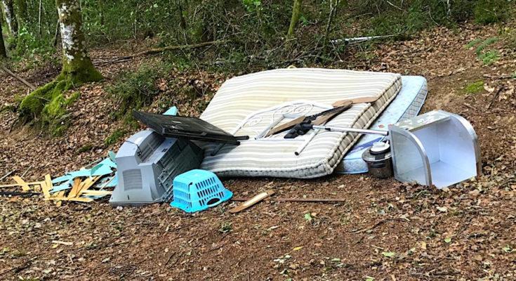 Les dépôts sauvages en Lorraine sont un fléau illégal récurrent.