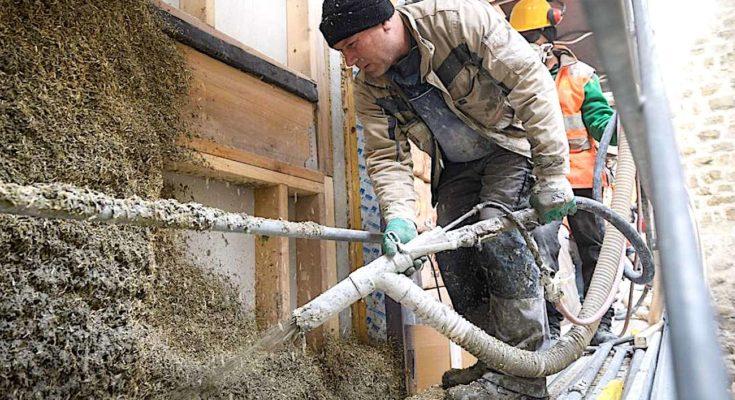 L'avantage écologique des bétons végétaux est de décarboner l'activité du bâtiment.