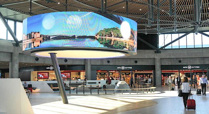 L'aéroport de Lyon bénéficiera bientôt d'une nouvelle navette qui le reliera au centre-ville lyonnais.
