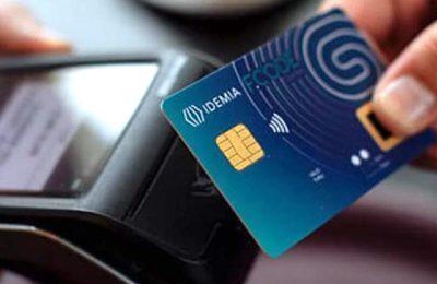 Carte bancaire biométrique : bientôt mise en service