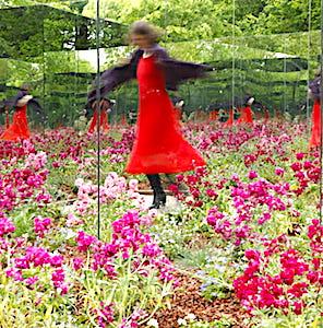 En juillet, un Festival des Jardins commence dans le parc du Château de Chaumont-sur-Loire.