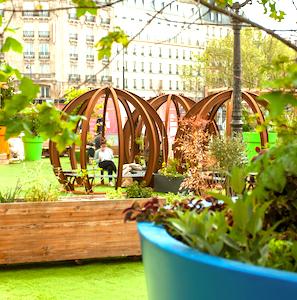 Une promenade dans le Jardin éphémère à Metz permet un dépaysement total et relaxant.