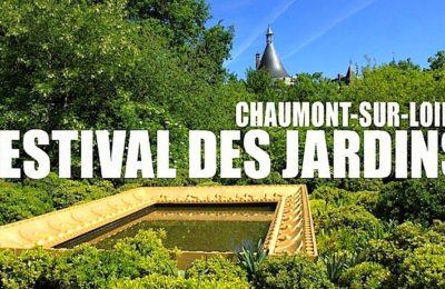 En juillet, un Festival des Jardins commence à Chaumont-sur-Loire.