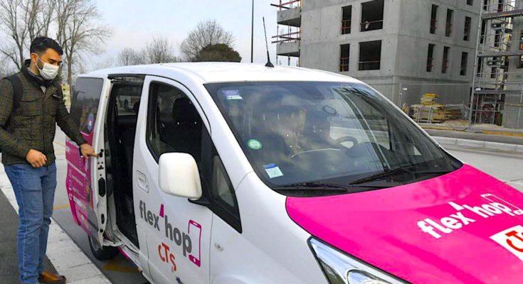 A Strasbourg, les transports à la demande sont facilités par le réseau local Flex'Hop.