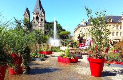 Jardin éphémère à Metz : une promenade très relaxante