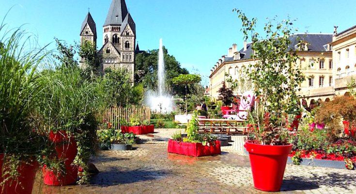 Une promenade dans le Jardin éphémère à Metz permet un dépaysement total.