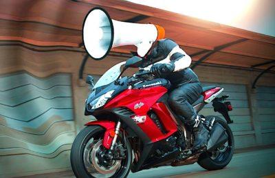 Bientôt, des radars anti-bruit mis dans huit métropoles détecteront les motos trop bruyantes.