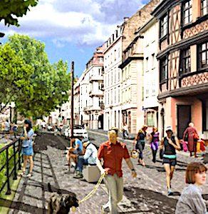 En menant une expérience de piétonnisation à Strasbourg, la ville veut apporter un moment estival agréable à ses habitants.