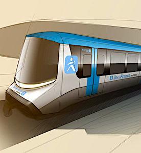 Les nouveaux métros du Grand Paris bénéficieront de nouvelles technologies.