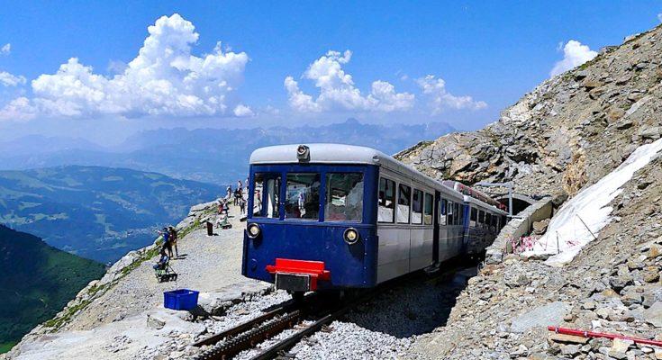 Tramway du Mont-Blanc : un train historique reprend du service