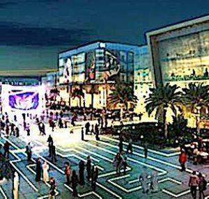 une vue d'une rue du futur pour illustrer une attractivité des smart cities