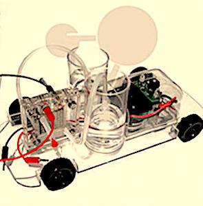 schéma de fonctionnement pour les voitures à hydrogène françaises