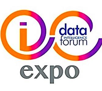 logo de I-Expo & Data Intelligence Forum, à Paris