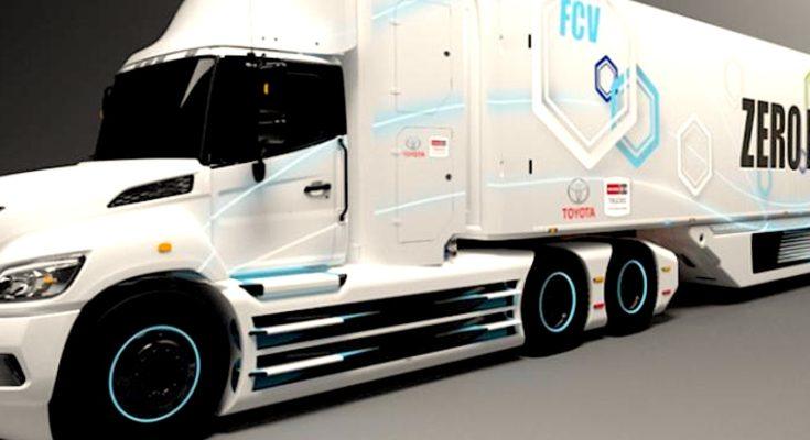 Les poids lourds roulant à l'hydrogène, pour décarboner le trafic routier sur le territoire, semblent fournir une bonne solution verte.