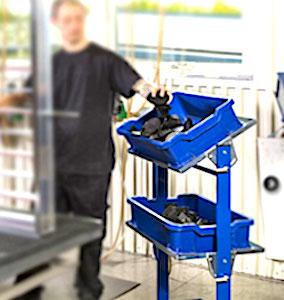 Les bacs de préparation sont des outils professionnels indispensables dans la production globale des bacs en plastique.
