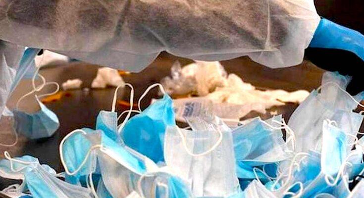Un recyclage des masques chirurgicaux du groupe Schmidt permet de fournir des accessoires scolaires