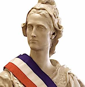 buste de Marianne pour illustrer la réforme de la fonction publique